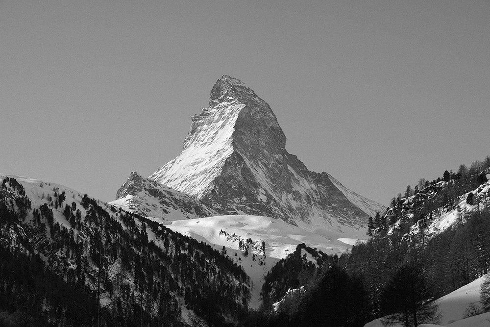 Matterhorn view from Zermatt
