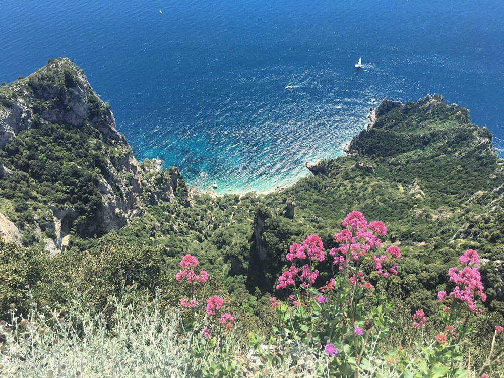 Views from Mount Solaro