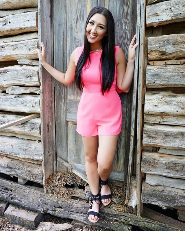 Night out? No prob 😏 pink cutout romper {s-l} $24! #lavishlove #russellville #romper #neon #summer