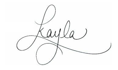Kayla Hollatz - Blog