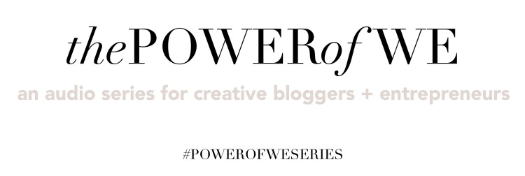 The Power of We Audio Series by Kayla Hollatz, Community Coach for Creatives