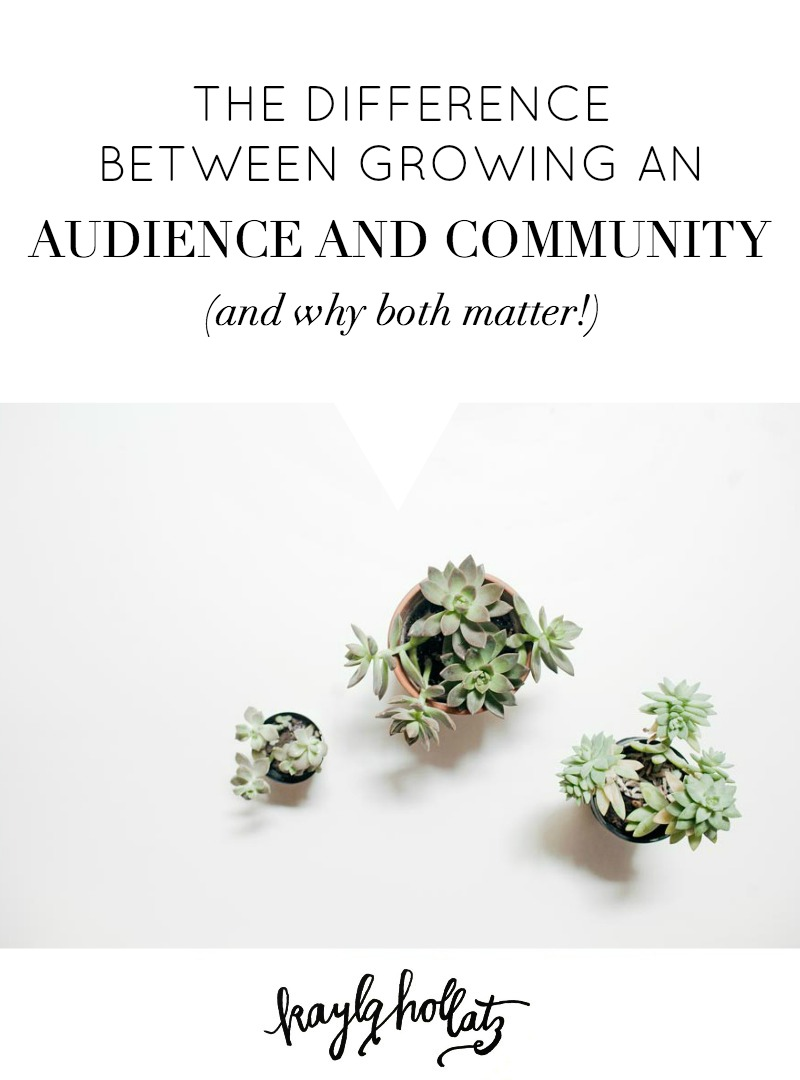 The Difference Between Growing an Audience and Community (