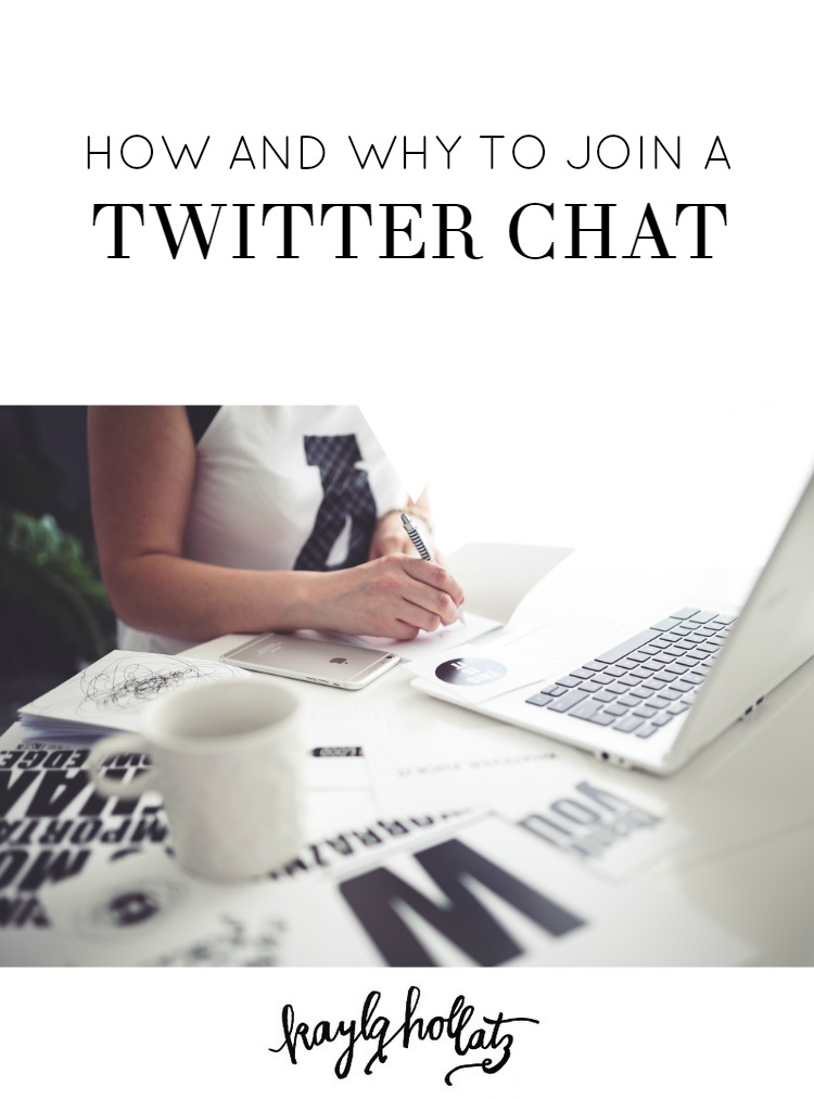 How and Why to Join a Twitter Chat | Kayla Hollatz: Community Coach for Creatives