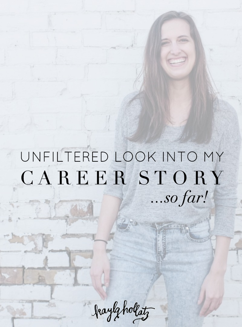 I'm sharing my full career story on how I went from wanting to be a mermaid (really, though) to a full-time business owner, coach, and blogger after multiple career paths.