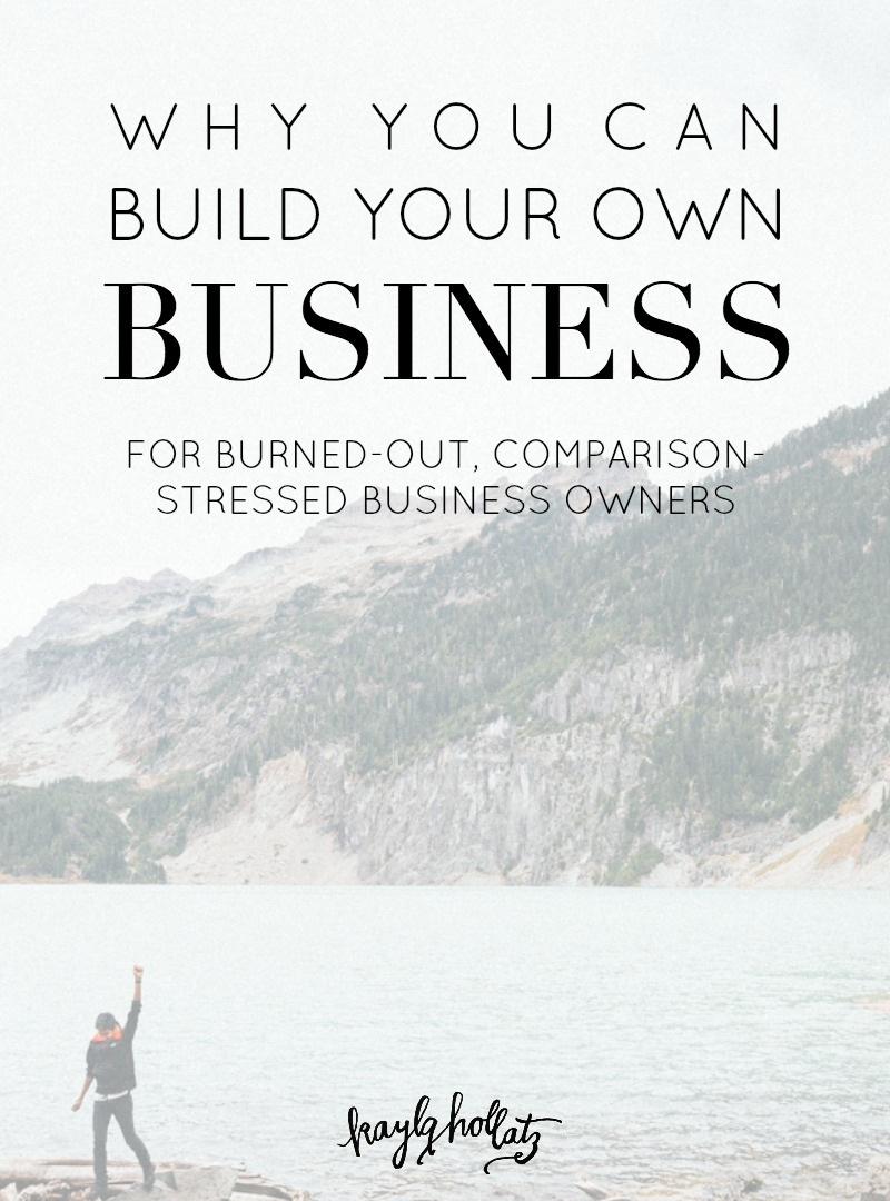 Why you can build your own business for creative bloggers turned entrepreneurs