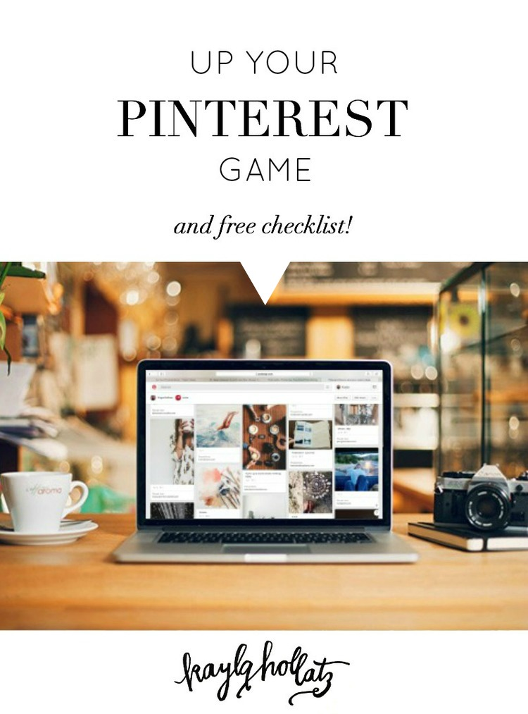 Up your Pinterest game for creative bloggers and entrepreneurs