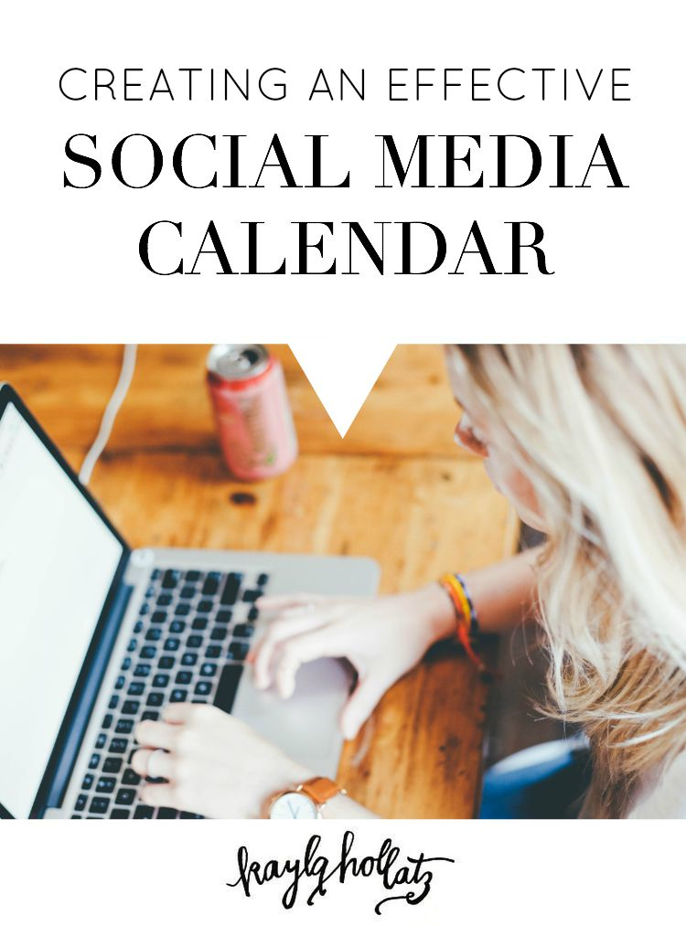 Creating an effective social media calendar for your blog, brand, and business for bloggers and entrepreneurs