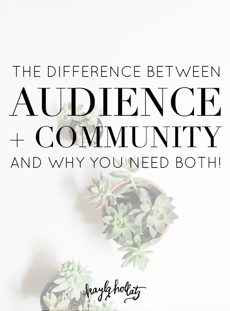 Audience vs Community Building for Bloggers and Entrepreneurs