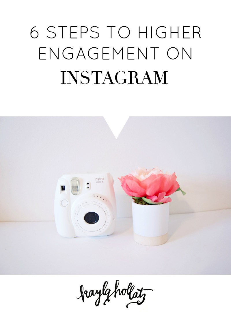 6 ways to higher Instagram engagement for creative bloggers and entrepreneurs