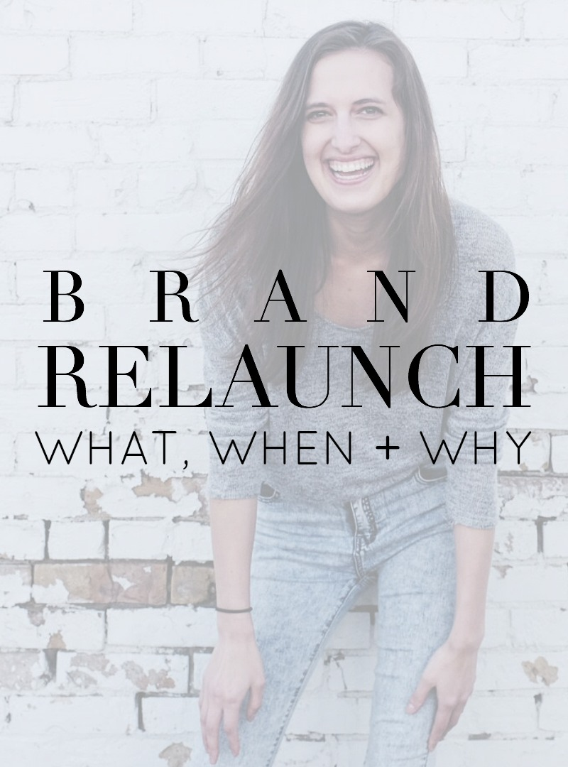 A behind-the-scenes look at my new brand, blog, and website relaunch. Kayla Hollatz