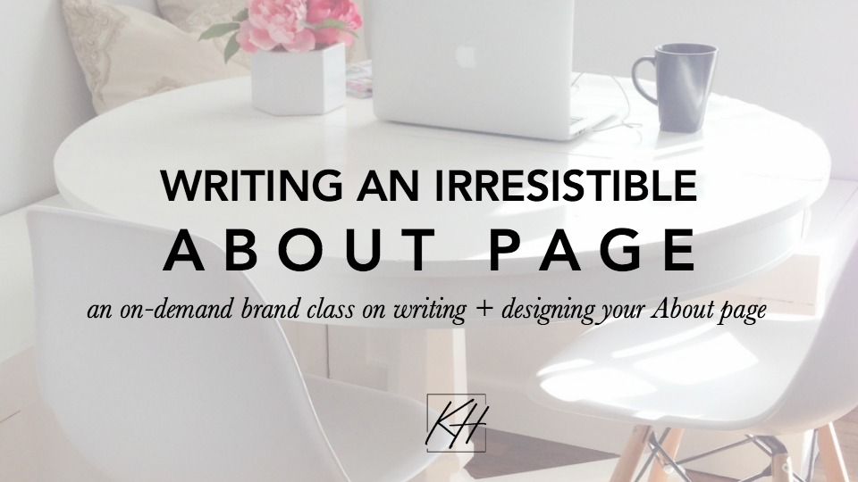 About Page Copywriting Content Creation