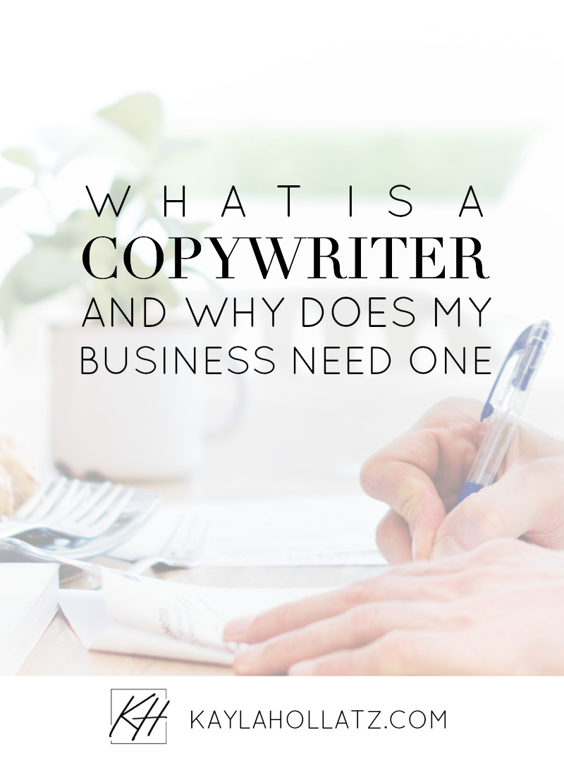 What is a copywriter and why does your business need one?