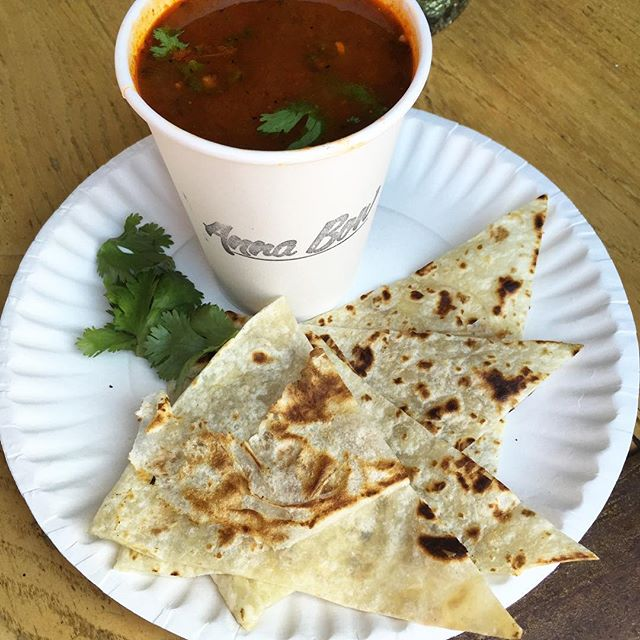 Hey guys, check out our deep and spicy Chicken Chili Soup, served with a grilled tortilla.  Only $5.  See you soon #rockawaybeach #chickensoup #tortilla #spicy #yummy