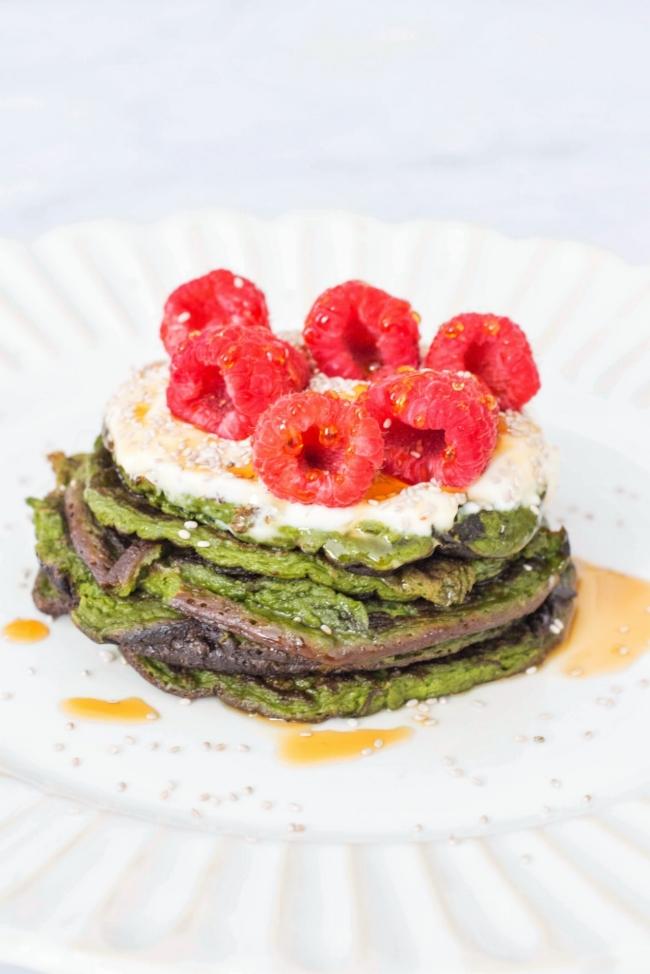 Matcha banana pancakes with maple cream kale me maybe matcha banana pancakes with maple cream ccuart Choice Image