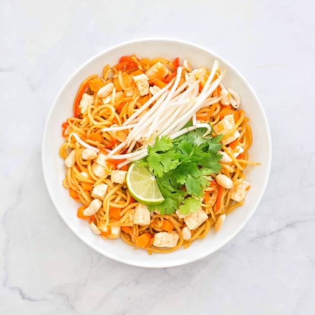 Vegan Sweet Potato Noodle Pad Thai Kale Me Maybe