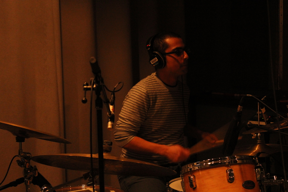 Diego Maldonado on drums