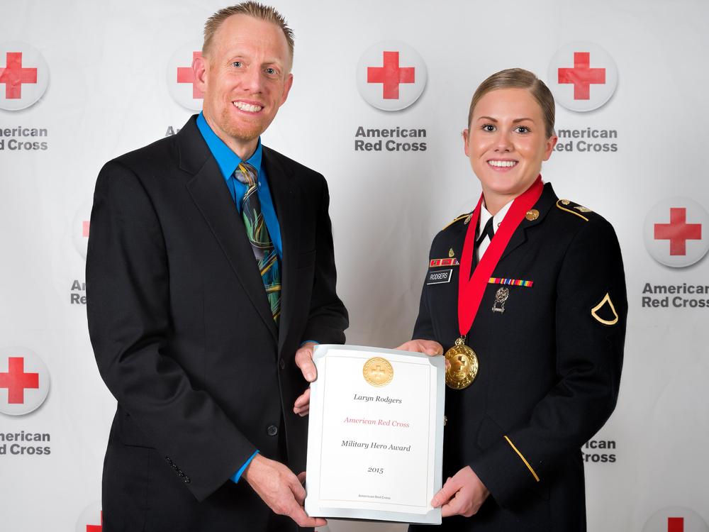 Red Cross Colorado Springs Hometown Heroes Event, 2015