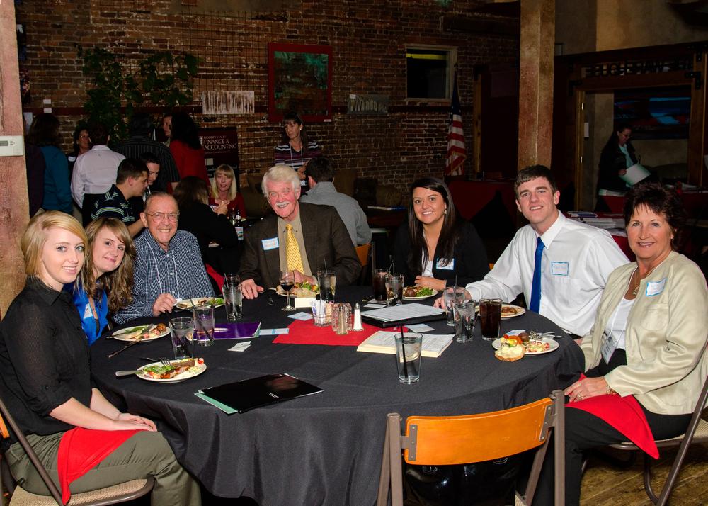 Pikes Peak IMA Student Night Dinner, 2012