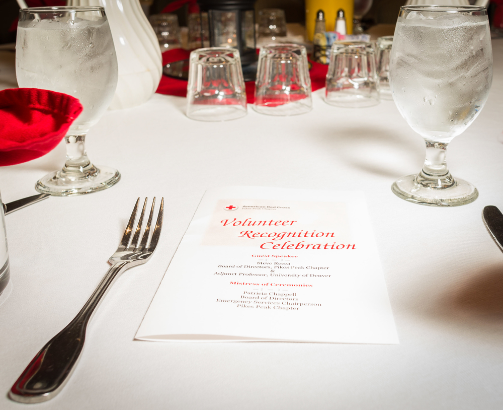 Red Cross Volunteer Recognition Breakfast, 2015