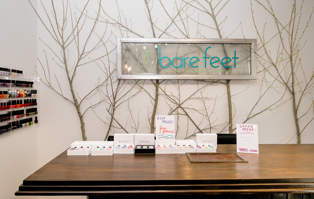 Bare Feet Spa Grand Opening, 4/30/16