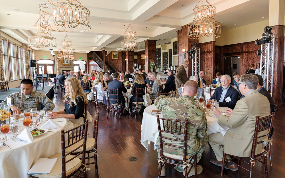 A scene from the Clara Barton Luncheon Event hosted by the South