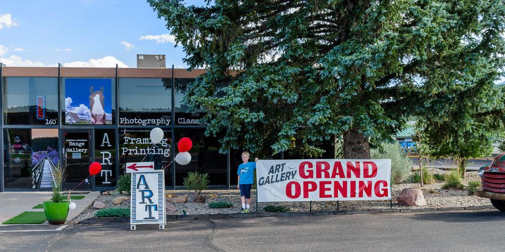 Range Gallery Grand Openning