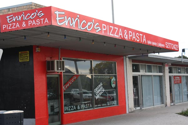 Enrico's Pizza Shop signs Geelong.JPG
