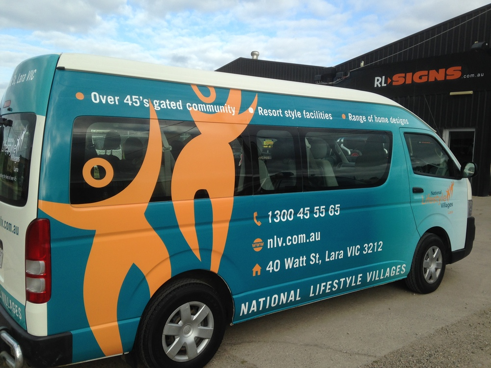 full colour vehicle wrap