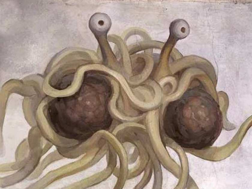 Courtesy of the Church of the Flying Spaghetti Monster