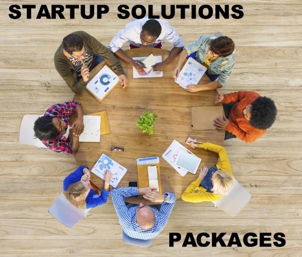 Startup Solutions Menu