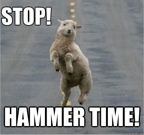 Post-judgment collections: almost as dangerous as dancing like MC Hammer in the middle of the road.  Especially if you happen to be a sheep.  Those hooves do not look like they offer a whole lot of traction.