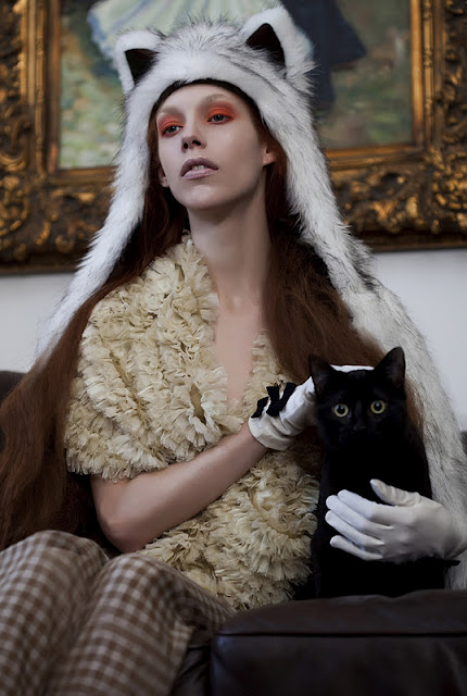 """Crazy Cat Lady"" Shoot, Sydney.  photo credit:  claire wallman photography"