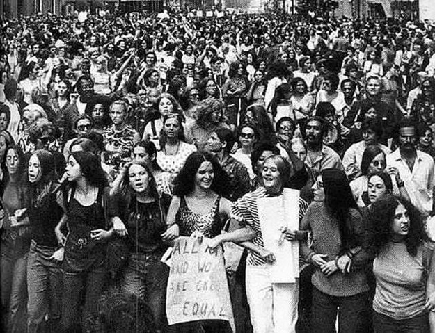 protests during the second wave of the feminist movement.