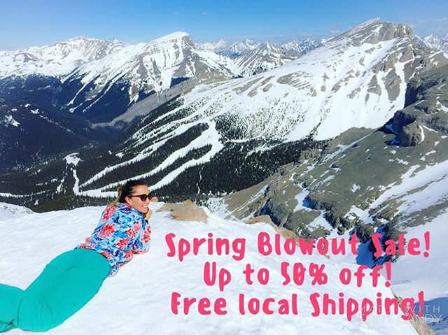 In anticipation of the upcoming summer adventure months, we are having a SPRING BLOWOUT SALE!!! Up to 50% off most items & if you live in YYC, FREE shipping (code: LOCALLOVE)!!! Link to shop in profile ☝🏼#backcountrybeautyessentials #albertaadenturegirls #mountaingirls