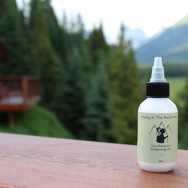 "Happy #humpday! Every beauty needs dry shampoo - whether it's for the backcountry or for ""those"" kind of mornings (like mine today!). Our dry shampoo is the perfect size for travel or everyday use and smells great too! Keeps you and your hair feeling fresh and fantastic. 🙌🏻⛰😊"