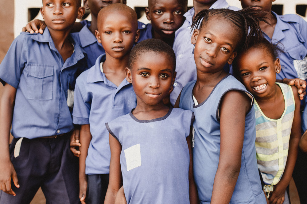 this is one of the first photos i took on the first day. these children just gathered right in front of me & looked into my lens with their beautiful eyes. this little girl in the front is absolutely striking & i love this image so much because of her!