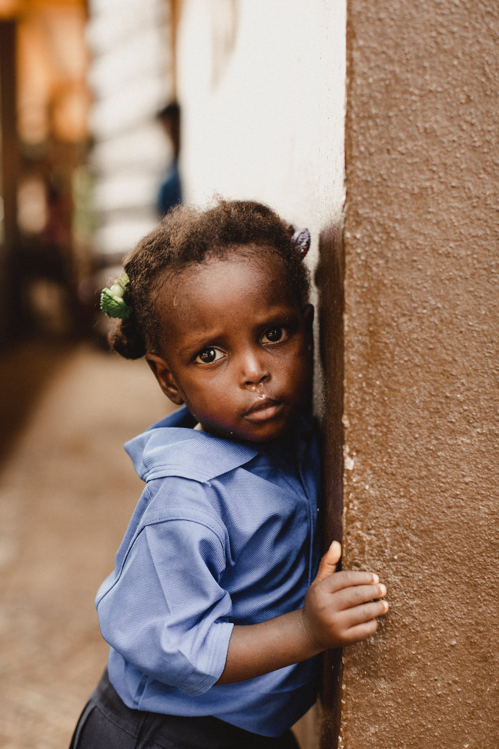 one of the tiniest humans i have ever encountered. even though she couldn't talk, she clearly has so much to say. you know how it goes...the eyes are the window to the soul.