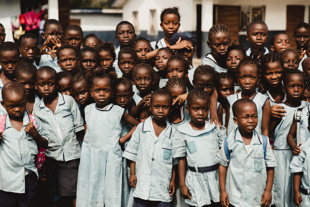 some children from another campus we visited. probably the most well behaved children i have ever encountered. not to mention they are stunning as well.