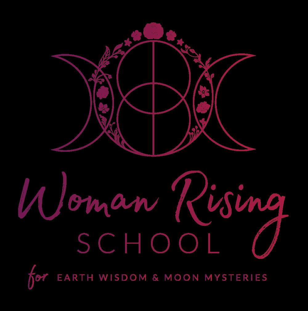 LOGOTYPE_Stacked_Tagline_GradientPurple_WomanRisingSchool.png