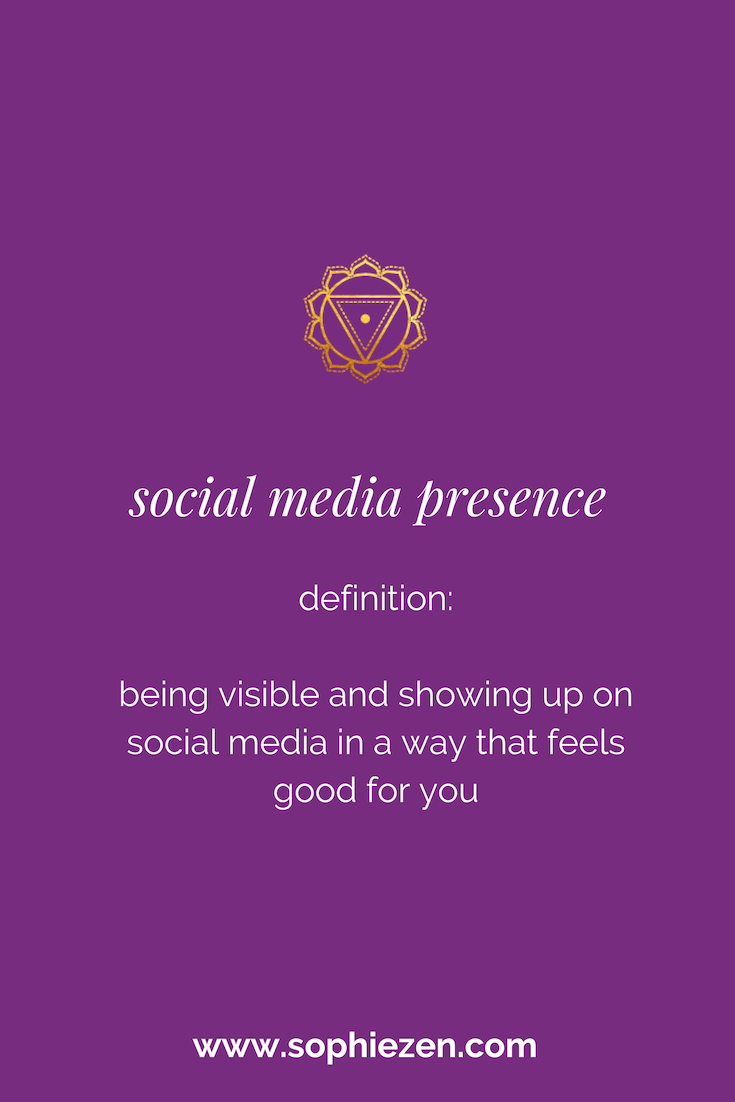 Sacred Social Media Presence