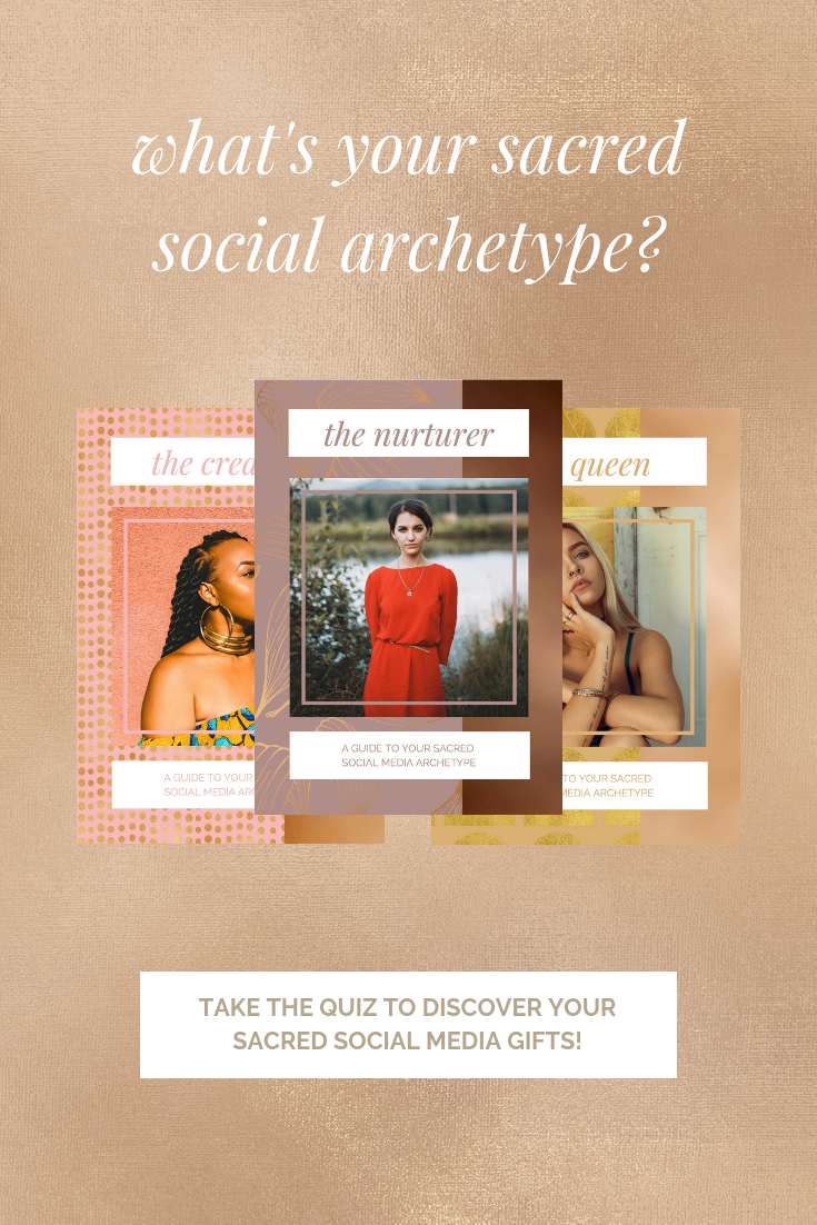 What's your sacred social media archetype?