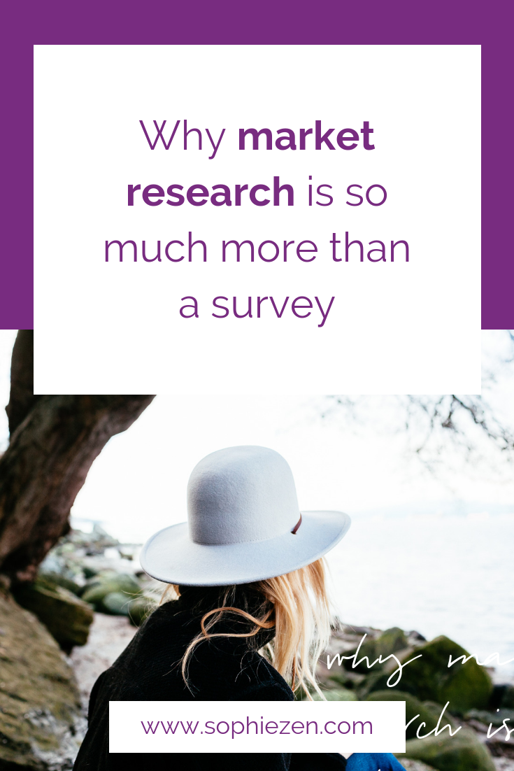 Why market research is so much more than a survey