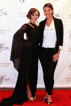Restoration AT Showcase broadway spectaular  Restoration Skincare creator, Sarah Bbeauty at Karina Smirnoff's Broadway Spectaular Event at the Encino Banquet Hall