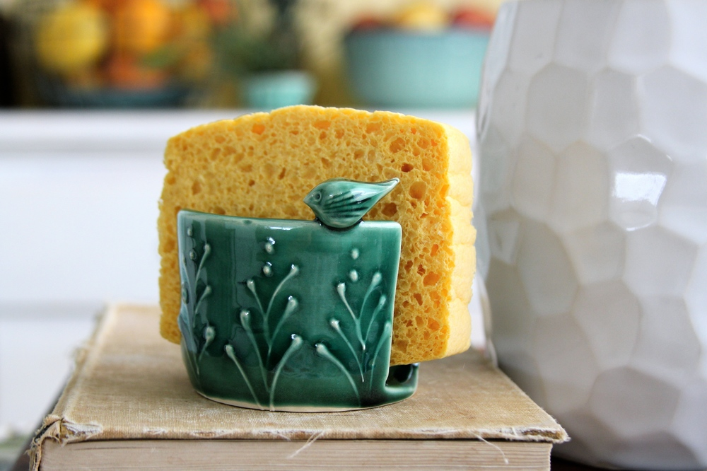 bird sponge holder - Kitchen Sponge Holder