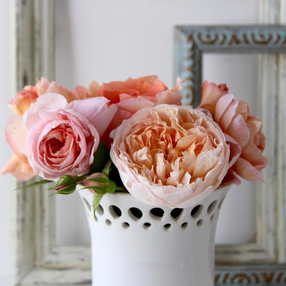 Lace Cut Out Vase
