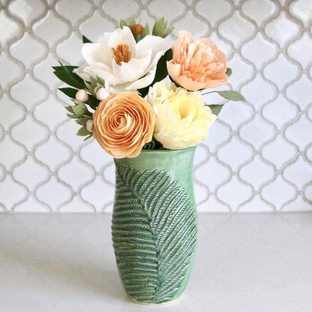 Fern Vase by Back Bay Pottery