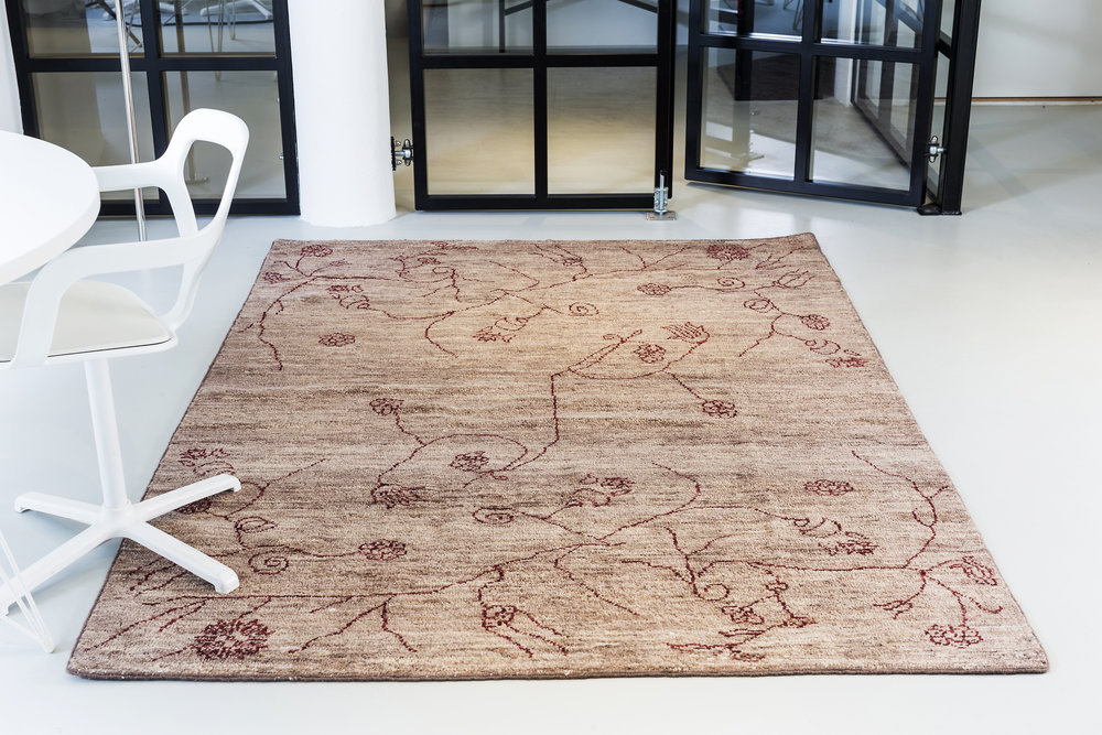 The Garden rug by Massimo