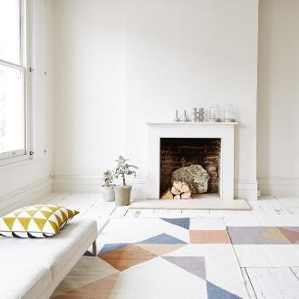 Memo rug by Linie Design