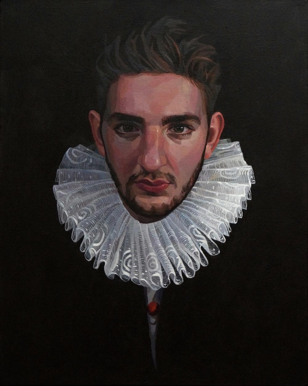 Portrait of a Modern Gentleman (Gil Elkington Chambers)