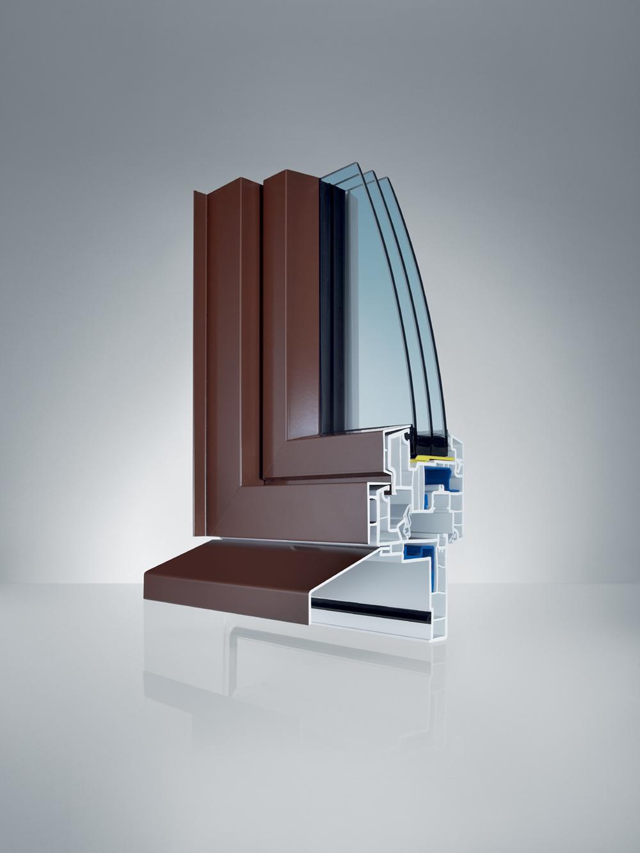 Profil Wechselrahmen AS1 - Kunststoff/Aluminium